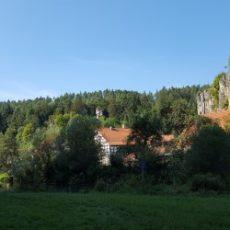 Pegnitztalradweg bei Lungsdorf