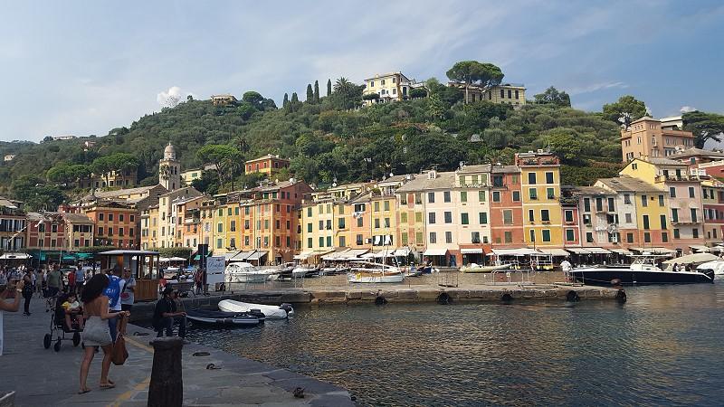 Hafenpiazza von Portofino
