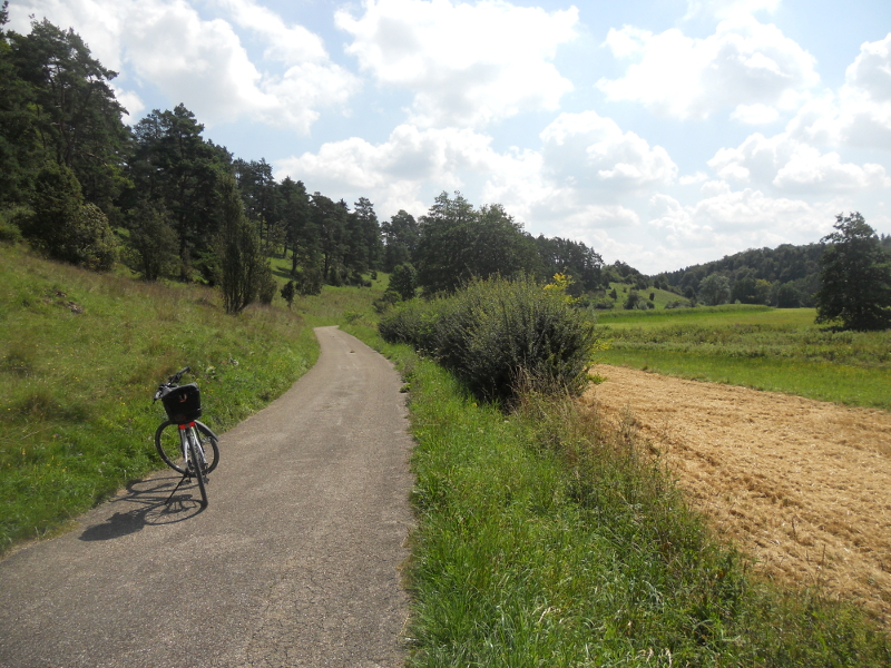 Radweg Tal Schwarze Laber