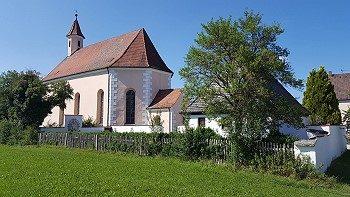 Kirche in Heldmannsberg beim Schottental