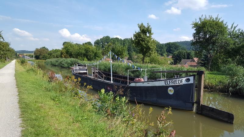 Ludwigskanal Treidelschiff Elfriede