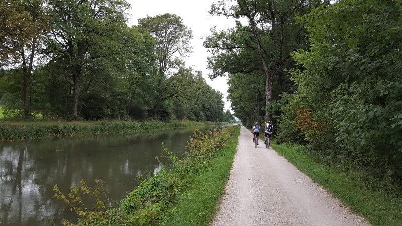 Radtour am Ludwigskanal Neumarkt nach Burgthann