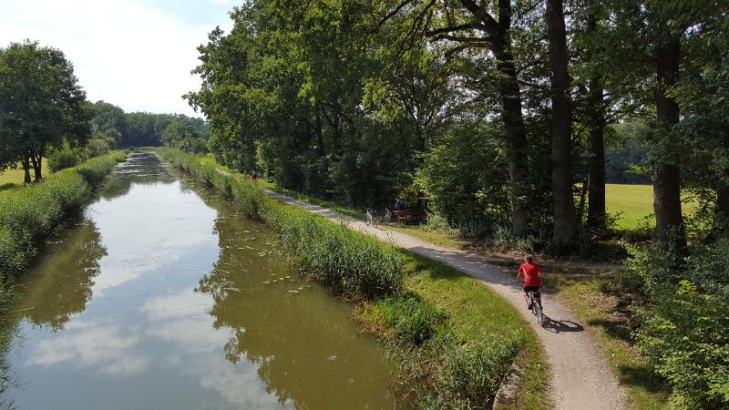 Radweg Ludwigskanal bei Rasch