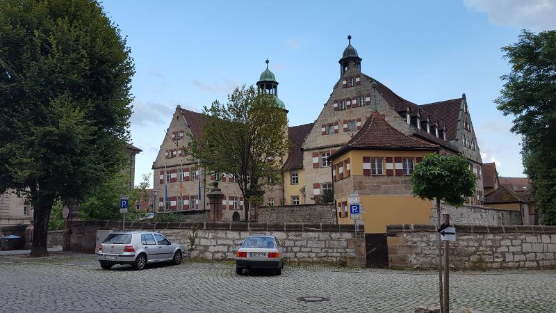 Hersbruck Schloß in der Altstadt