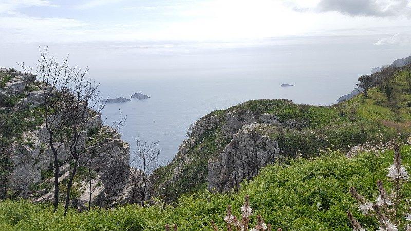 Wandertour an der Amalfiküste - Von Piano di Sorrento nach Positano, Italien