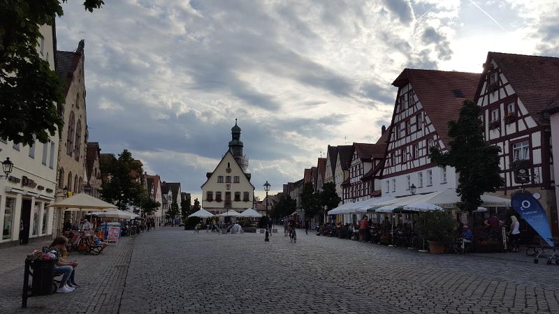 Marktplatz von Lauf