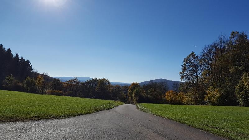 Radtour Großviehberg hinab ins Sittenbachtal