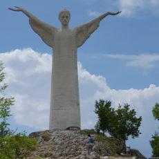 Maratea Christusstatue auf dem Berg San Biagio