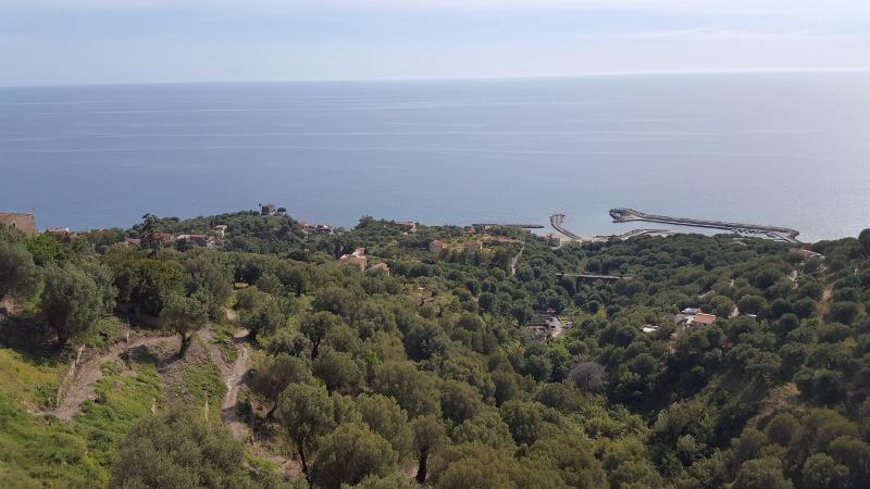 Pisciotta Blick hinab nach Marina di Pisciotta