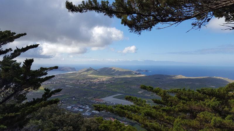 Wanderweg Porto Santo PR2 Pico Castelo Pico do Facho