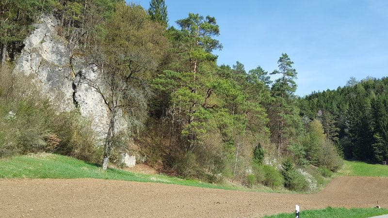 Radtour Schwend-Kastl-Pfaffenhofen-Brunn durch den Oberpfälzer Jura