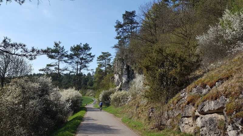 Radtour südlich von Kastl im Amberg-Sulzbacher Land