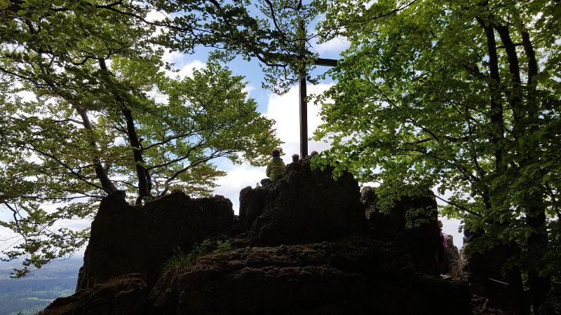 Wanderung Glatzenstein und Großer Hansgörgl in der Hersbrucker Alb