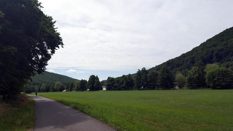 Mainradweg von Lohr am Main bis Wertheim - Am Mainradweg bei Lohr