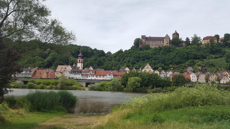 Mainradweg von Lohr am Main bis Wertheim - Burg Rothenfels
