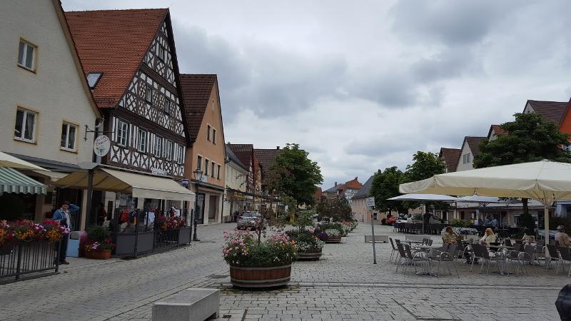 Radtour Fränkische Schweiz - Ebermannstadt Innenstadt