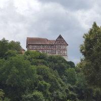 Mainradweg von Lohr am Main bis Wertheim - die Homburg