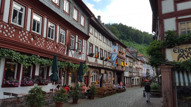Mainradweg von Wertheim bis Miltenberg - Miltenberg Altstadt