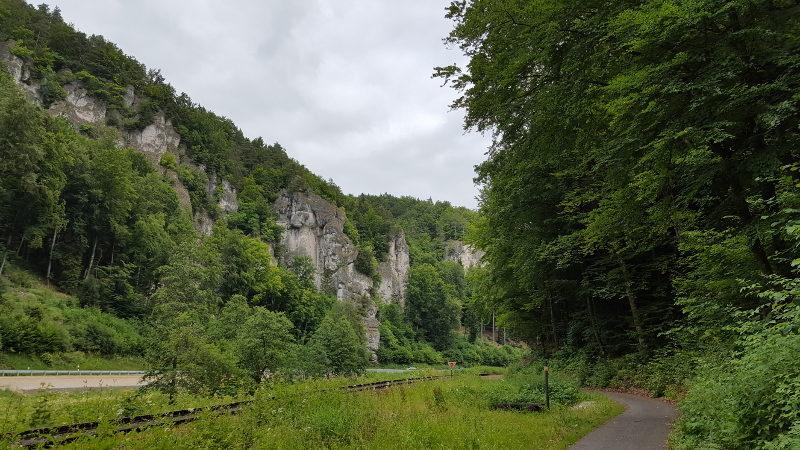 Fränkische Schweiz -Radweg Wiesenttal
