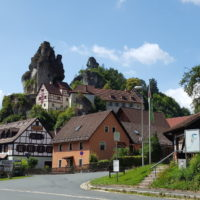 Radtour Fränkische Schweiz - Tüchersfeld