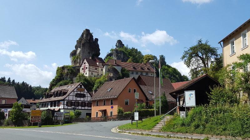 Radtour Fränkische Schweiz Trubach- und Wiesenttal