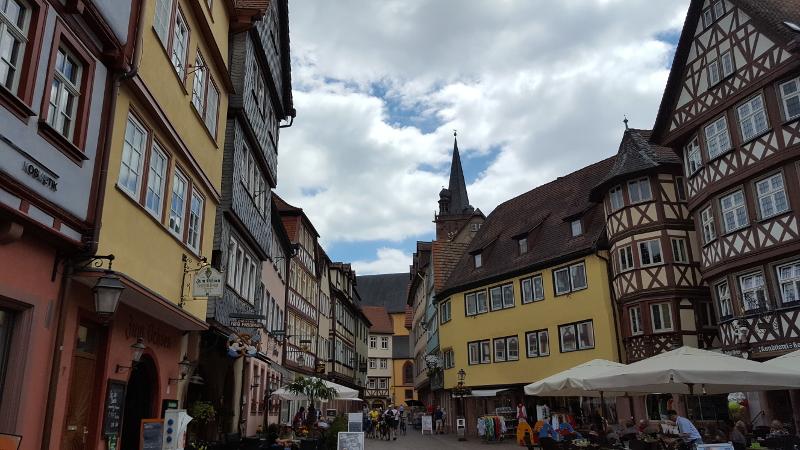 Mainradweg von Wertheim bis Miltenberg -Wertheim Altstadt