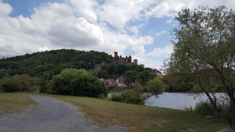 Mainradweg von Wertheim bis Miltenberg -Wertheim am Main