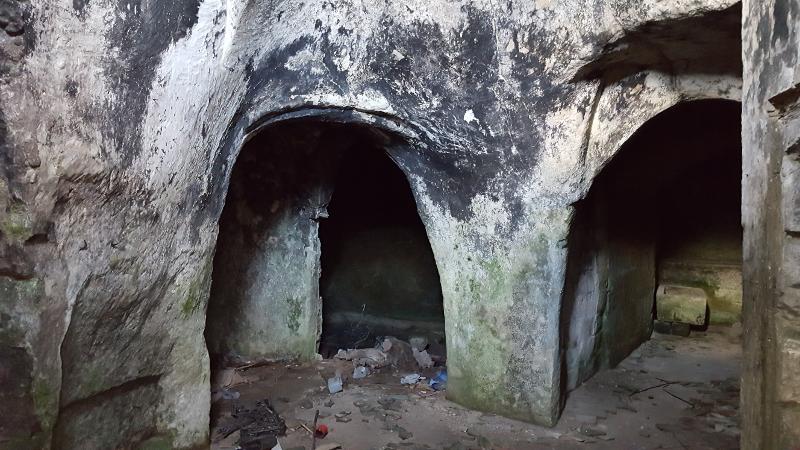 Sassi von Matera - ehemalige Höhlenwohnung