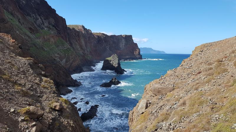 Madeira Sao Lourenco Felsküste