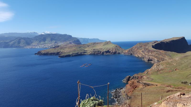 Madeira Sao Lourenco, Aussicht vom Morro do Furado