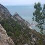 Wanderung zum Strand Due Sorelle bei Sirolo im Conero Naturpark, Italien