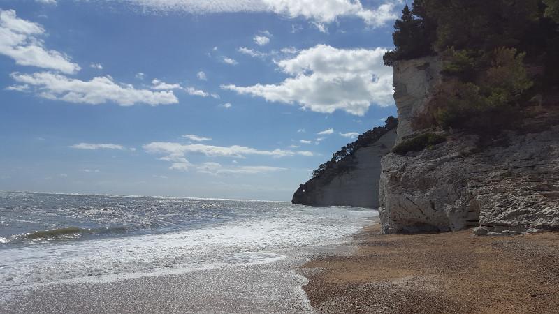 Strand Vignanotica im Gargano