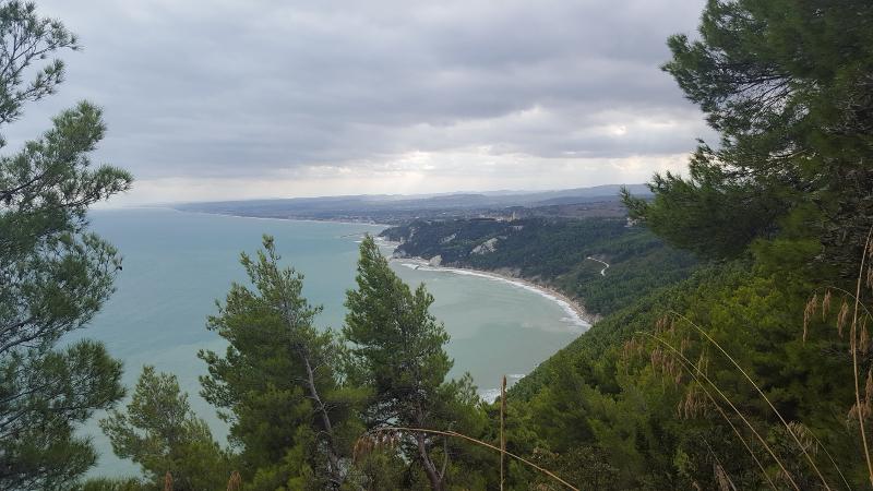 Aussicht Wanderweg-Strand-Due-Sorelle