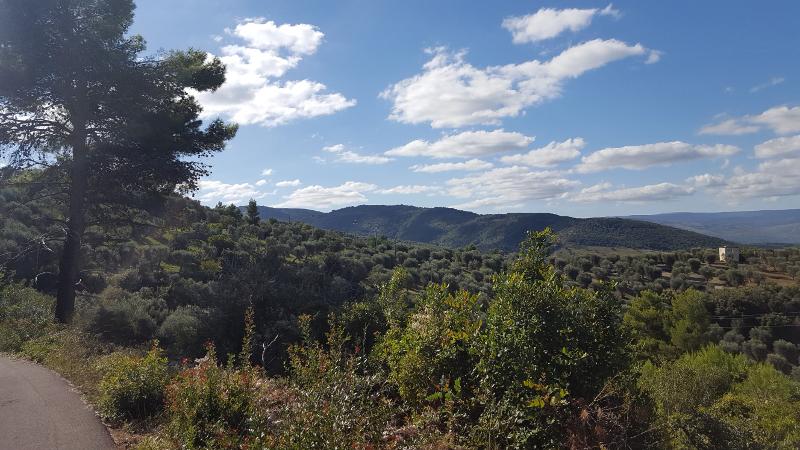 Aussicht bei Wanderung ab Rodi, Gargano