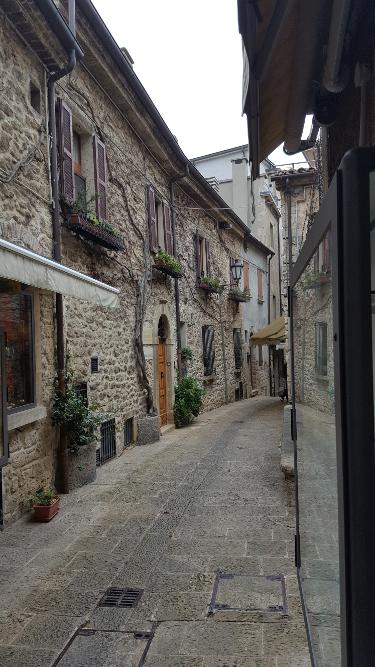 San Marino Altstadtgasse