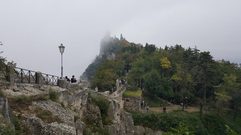 San Marino Burganlage