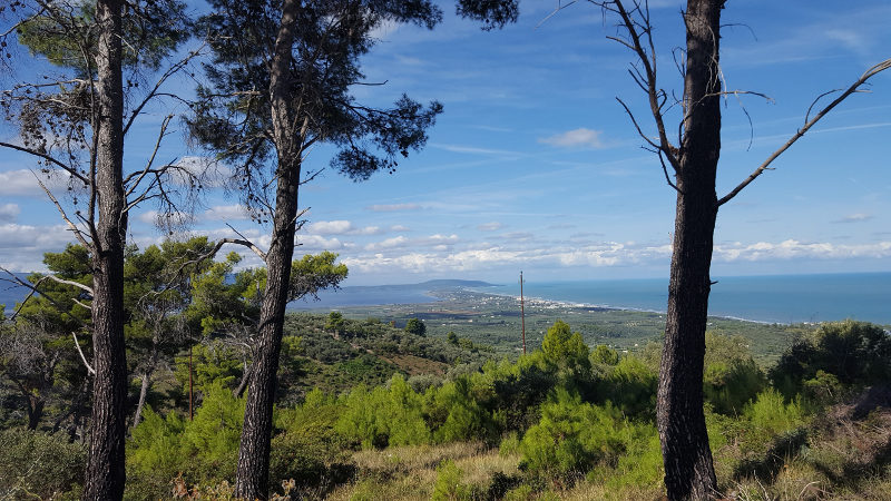 Wanderung im Gargano ab Rodi Garganico, Italien