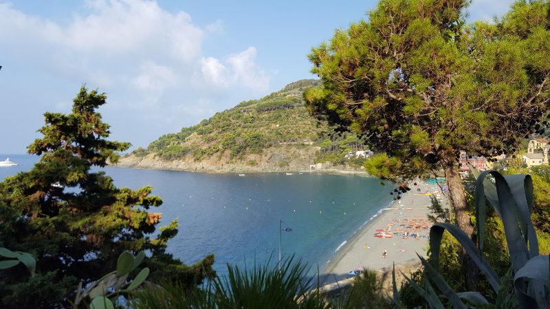 Blick über Bonassola Ligurien