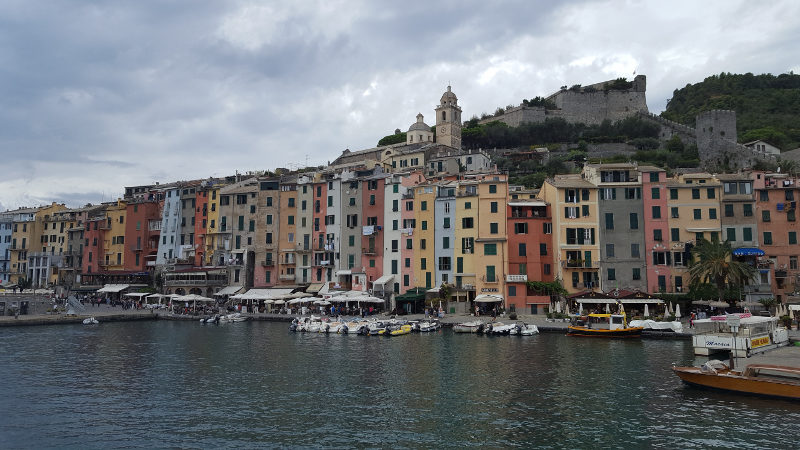 Wanderung von Riomaggiore nach Portovenere in Ligurien, Italien