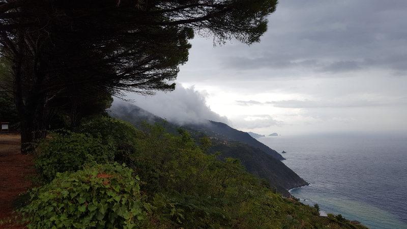 Wanderung Riomaggiore nach Portovenere Aussicht