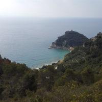 Wandertour - Blick zurück auf Varigotti