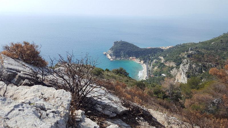 Aussichtspunkt Wanderung Varigotti nach Noli