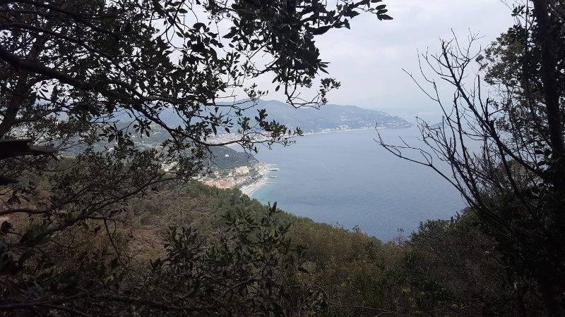 Blick auf Noli Ligurien