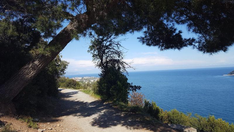 Römerweg von Alassio nach Albenga, Ligiurien