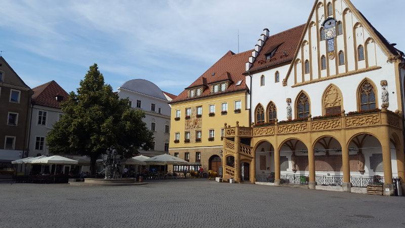 Amberg, Rathaus am Marktplatz