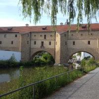 Amberg, Stadtbrille an der Vils