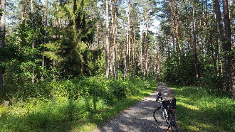 Radtour von Ammerthal nach Amberg