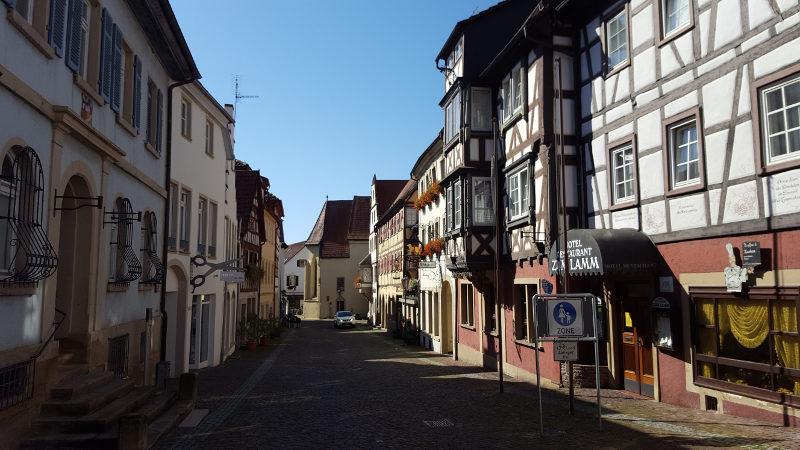 Gundelsheim am Neckar, Zentrum