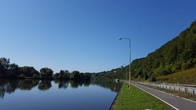 Neckartalradweg von Bad Wimpfen nach Mosbach, bei Gundelsheim