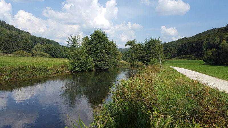 Pegnitztalradweg von Hersbruck bis Neuhaus, bei Düsselbach